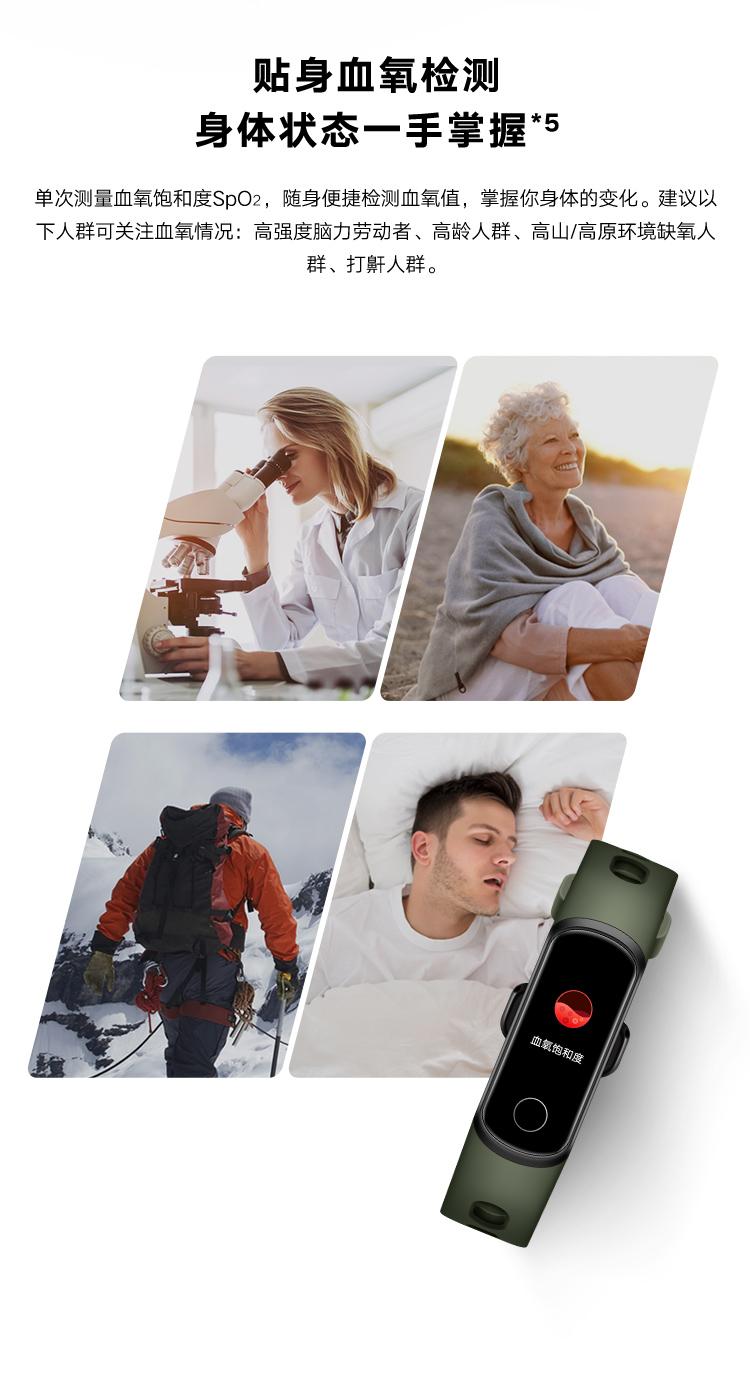 Món danh dự của Hoài Cảnh trên Brace 5l Nhịp tim mới và s ản xuất oxy trong máu 4 nâng cấp đồng hồ x