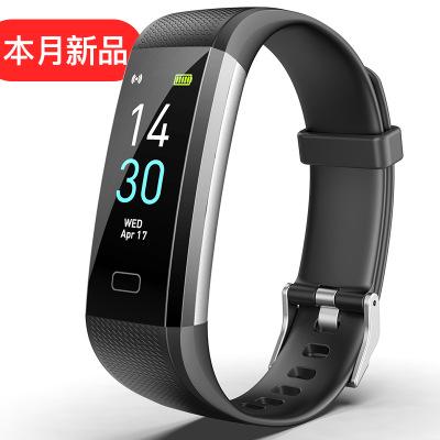 Runmifit Vòng đeo tay thông minh Hot màn hình màu mới S5 vòng đeo tay thông minh điểm chuẩn y tế nhị