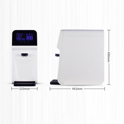 OEM Bộ lọc nước Máy lọc nước gia đình máy tính để bàn thông minh máy nóng lạnh bốn giai đoạn ro thẩm