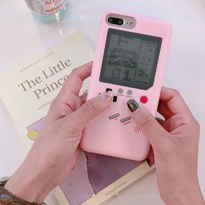 XJT Ốp lưng Iphone 6 Vỏ điện thoại di động Iphone vỏ máy chơi game Tetris vỏ điện thoại cho iphone6
