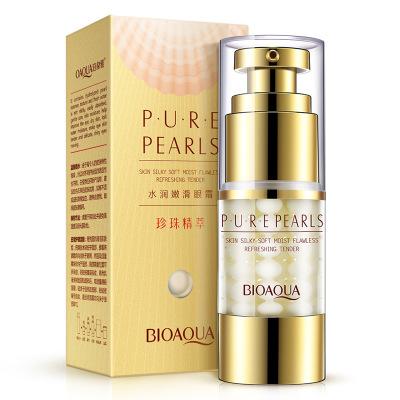 BOQUANYA Kem dưỡng mắt Chiết xuất Boquan Ya Pearl là dưỡng ẩm và mịn màng Kem dưỡng ẩm nuôi dưỡng qu