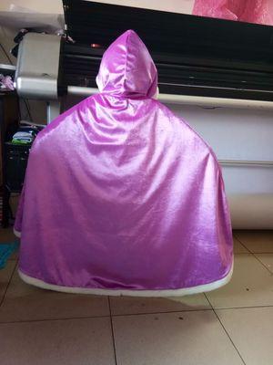 Độc lập Áo choàng trẻ em  Áo choàng công chúa băng giá Cô gái khăn choàng của trẻ em Mùa đông trẻ em