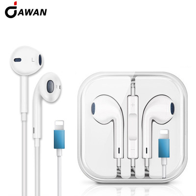 DAWAN Tai nghe có dây Áp dụng cho tai nghe có dây trong tai Apple 7/8 / X stereo Tai nghe stereo thế