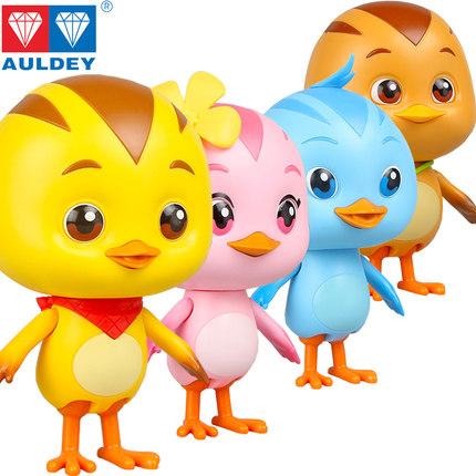 AULDEY  - đồ chơi Đội gà dễ thương Anime .