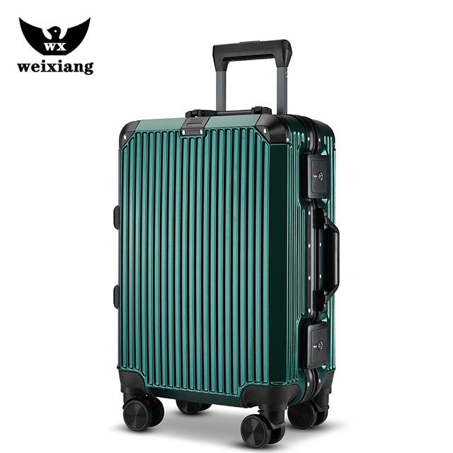 VaLi hành lý du lịch cỡ 20 inch , loại xe đẩy .