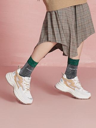 BELLE  Giày lười / giày mọi đế cao  Trung tâm mua sắm mùa thu mới của BELLE / Belle 2019 với cùng mộ