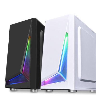 COOLMOON Thùng CPU Chơi khung gầm lưỡi Jiabing Máy tính để bàn Máy chủ RGB đầy đủ bên dưới hộp trò c