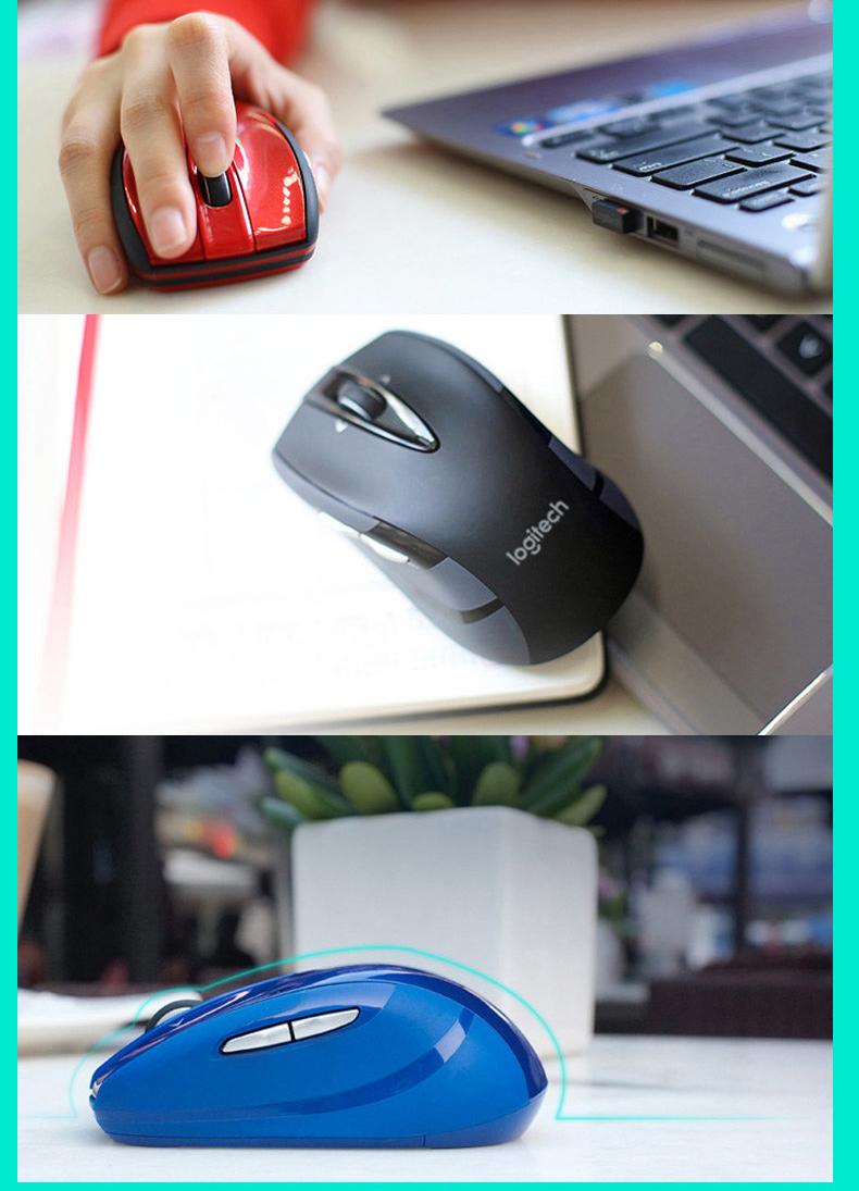 Chuột vi tính BOC Logitech m56 / m555 không dây một con chuột laze vô tuyến với màn hình máy tính xá