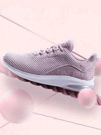 361 Giày lưới  361 giày nữ giày thể thao nữ mùa thu đệm thoáng khí Giày nữ lưới giảm xóc nhẹ giảm xó