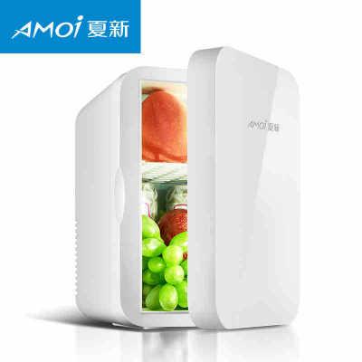 XIAXIN Tủ lạnh Amoi / Amoi 6L tủ lạnh mini nhà nhỏ ký túc xá một cửa tủ lạnh xe hơi gia đình kép sử