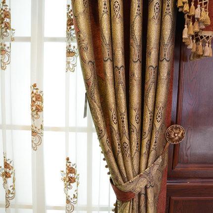 yesland  Vải Yarn dyed / Vải thun có hoa văn Yaxi Laidi cao cấp châu Âu chenille jacquard phòng khá