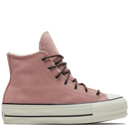 CONVERSE Giày nữ trào lưu Hot CONVERSE Chính thức Chuck Taylor All Star Giày cao cấp hàng đầu 566566