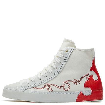 CONVERSE Giày nữ trào lưu Hot CONVERSE Chính thức Tuần lễ thời trang Chuck Taylor Trợ giúp cao 56500