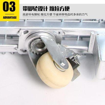 DHP Thép chữ V Góc thép dày xe sắt giỏ lưu trữ hộp di động lưới kinh tế khung lưới sắt bộ phận trong