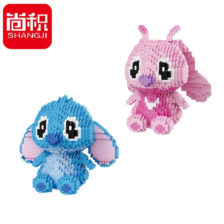 SHANGJI - Bộ đồ chơi lắp ráp dành cho bé DIY 21807-21808
