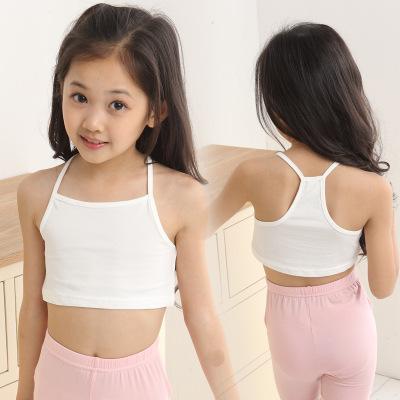 Trang phục trẻ em Áo ba lỗ  / Áo hai dây trẻ em Nữ đồ lót trẻ em corset cô gái áo ngực hàng đầu bọc