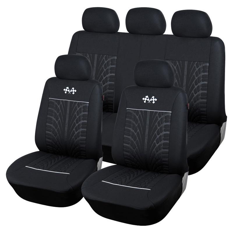 AUTOYOUTH Drap bọc ghế xe hơi Ngoại ô phổ thông bao gồm năm chỗ ngồi xe