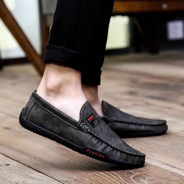 Giày mọi Gommino Túi tóc giúp 2019 giày nam mới phiên bản Hàn Quốc giản dị của bộ chân giày thanh ni