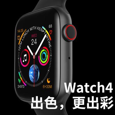 696 Đồng hồ thông minh Đồng hồ thông minh W34 mới Bluetooth 4.0 nhịp tim gọi ECG bước 1.54 chạm toàn