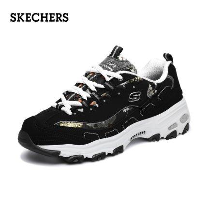 Skechers  giày bánh mì / giày Platform Skechers Giày nữ Skechers giày đế dày giày gấu trúc retro thờ