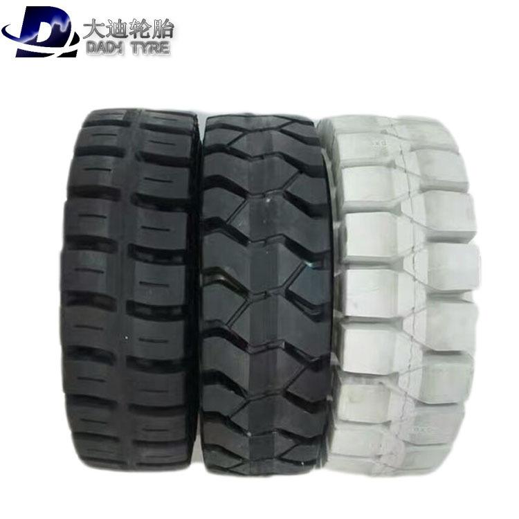 Lốp xe nâng Dadi 650-10 lốp 28 * 9-15 lốp 700-12 lốp chống sốc xe nâng rắn