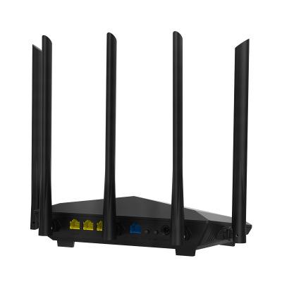 Tenda Modom Bộ định tuyến không dây Tenda AC7 năm ăng ten 1200M hai băng tần gia đình 5GWiFi thông q
