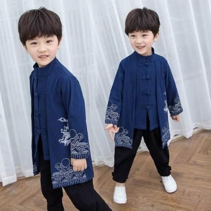 CadierHepburm  Đồ Suits trẻ em  2019 trẻ em mới theo phong cách Trung Quốc Hanfu phù hợp với 2 cậu b