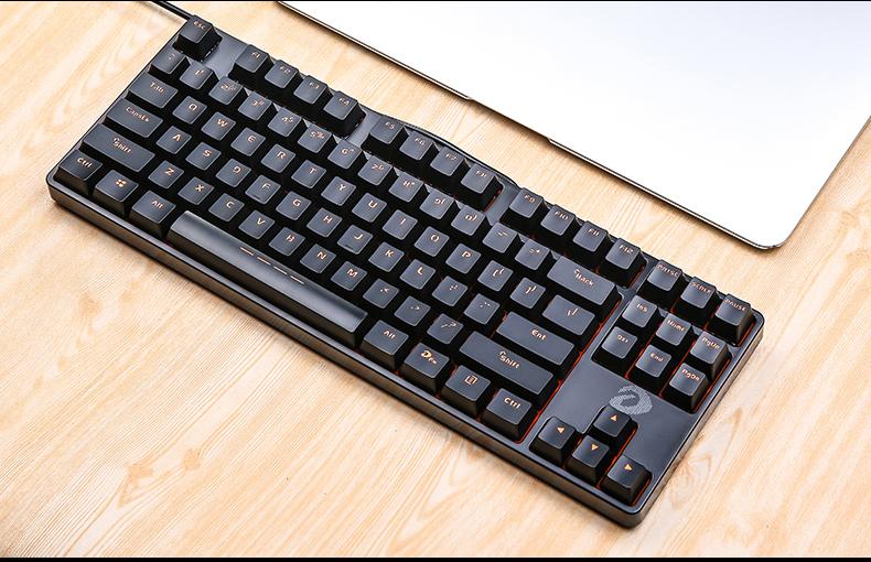 Bàn phím Cửa hàng màu đỏ chính thức cho bạn bàn phím máy móc dk1000 màu đen, đường dây nóng màu đen