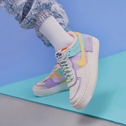 Nike Giày Sneaker / Giày trượt ván Nike Air Force 1 Air Force One AF1 Macaron Candy Deconemony Giày