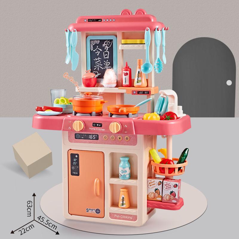 Đồ chơi Babi Valley 888-17 bếp đồ chơi nhà mô phỏng nấu cơm cho bé .