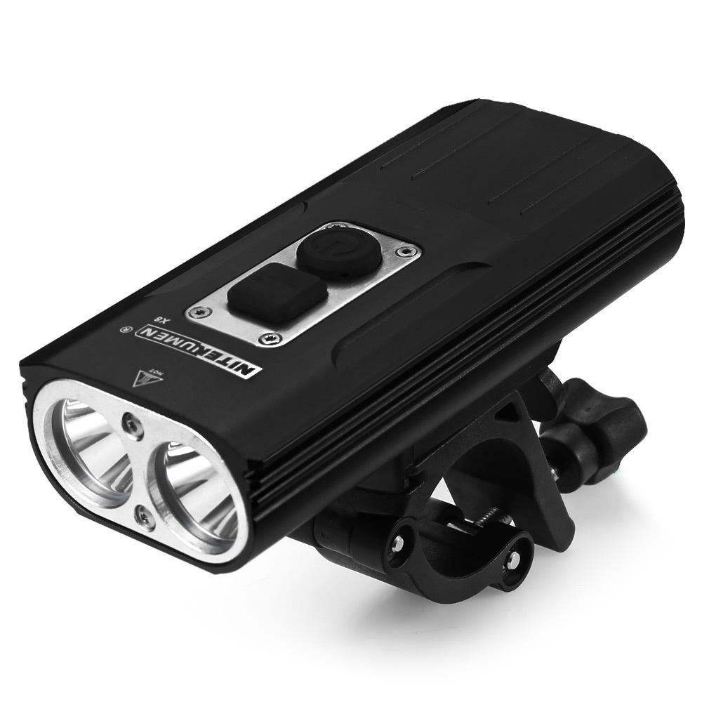 NITENUMEN - Đèn pha xe đạp siêu sáng sạc USB .