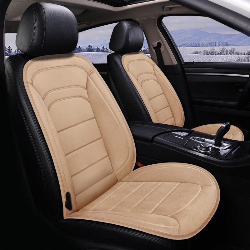 WEIMEI Drap bọc ghế xe hơi Đệm sưởi xe, nệm điện mùa đông, đệm xe ấm, đệm sưởi điện cho xe hơi, 12V