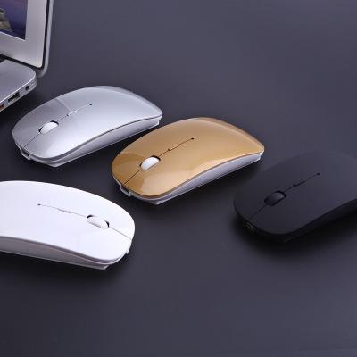 ZHONGNXING Chuột vi tính Chuột sạc không dây siêu mỏng Chuột máy tính bảng câm mac chuột không dây c