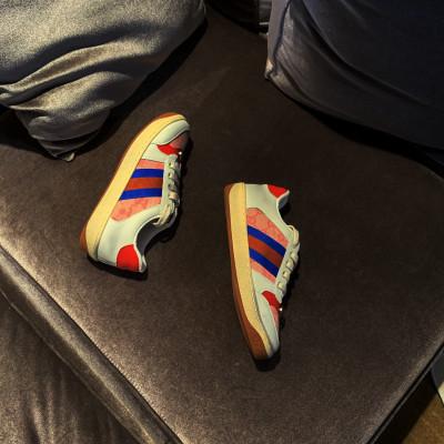 Giày Sneaker / Giày trượt ván Ins siêu lửa retro giày bẩn nhỏ Châu Âu và gió phẳng đôi giày nam và n