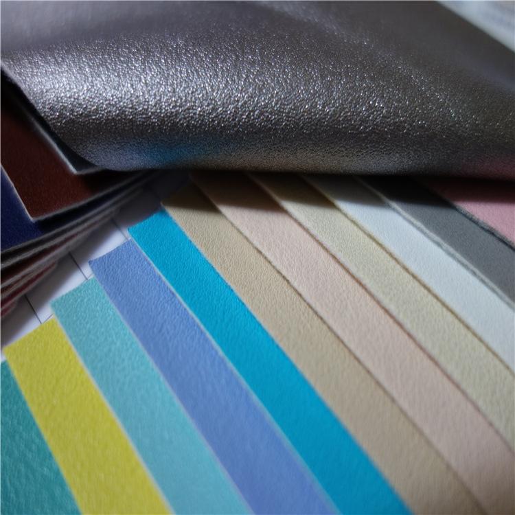 LIANGANG Vật liệu da 2019 vải da bê mới, da nhân tạo, túi phẳng, da giày, túi mềm, chất liệu trang t