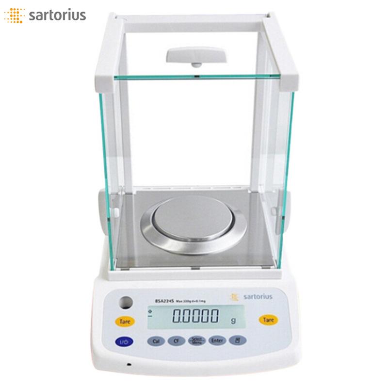 SDLS Cân điện tử Sartorius BSA224S phân tích cân bằng điện tử mười nghìn 0,1mg / 220g Đức 0,0001g