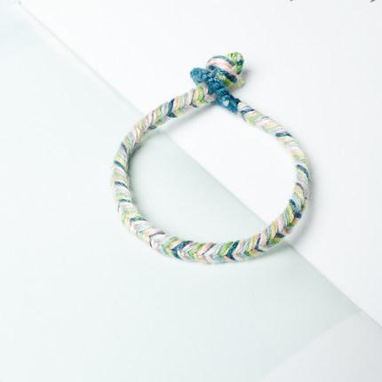 Ying Shu Chỉ thêu  DIY tay dây dệt thêu sợi bông hướng dẫn sử dụng vòng tay vòng chân gói vật liệu d
