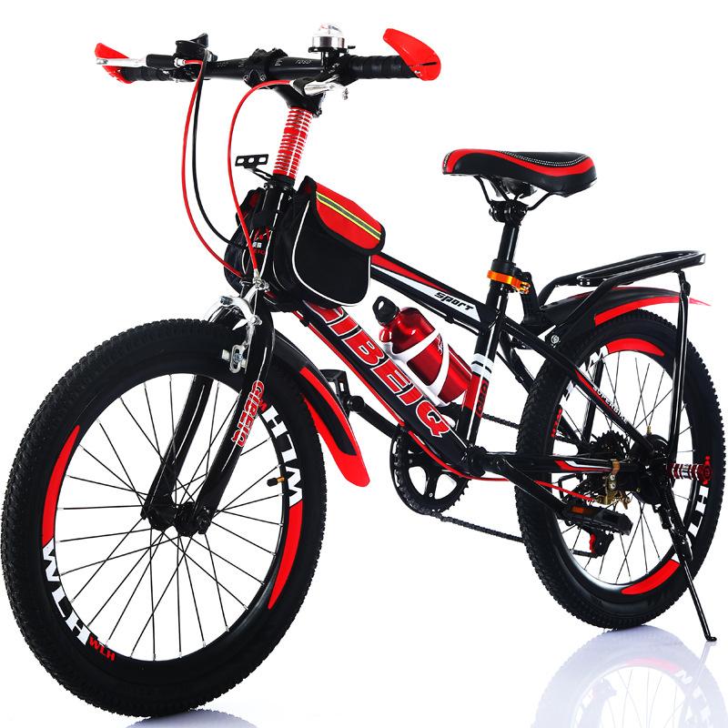 KERUIQI xe đạp Trẻ em mới nam và nữ 24 inch 22 inch Học sinh tiểu học và trung học