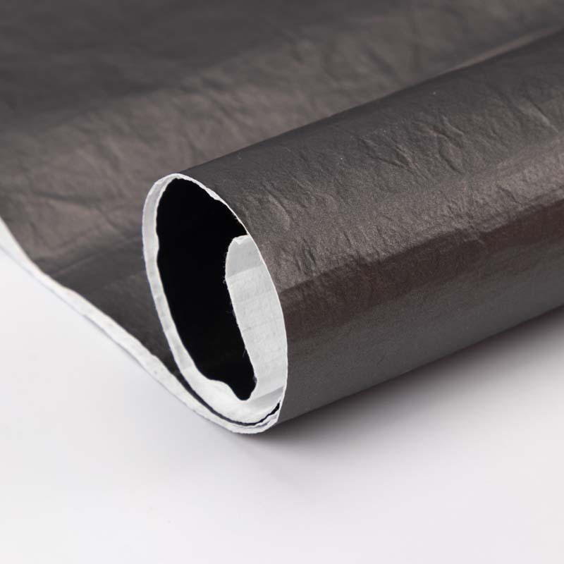 FUHUA Vật liệu da Mới giấy DuPont vải pu da rửa nếp nhăn DuPont giấy túi xách túi xách chất liệu đặc