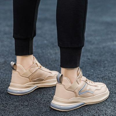 Giày FuJian Nhà máy trực tiếp giày nam mùa thu 2019 giày mới cao giúp giày nam xu hướng giày thể tha