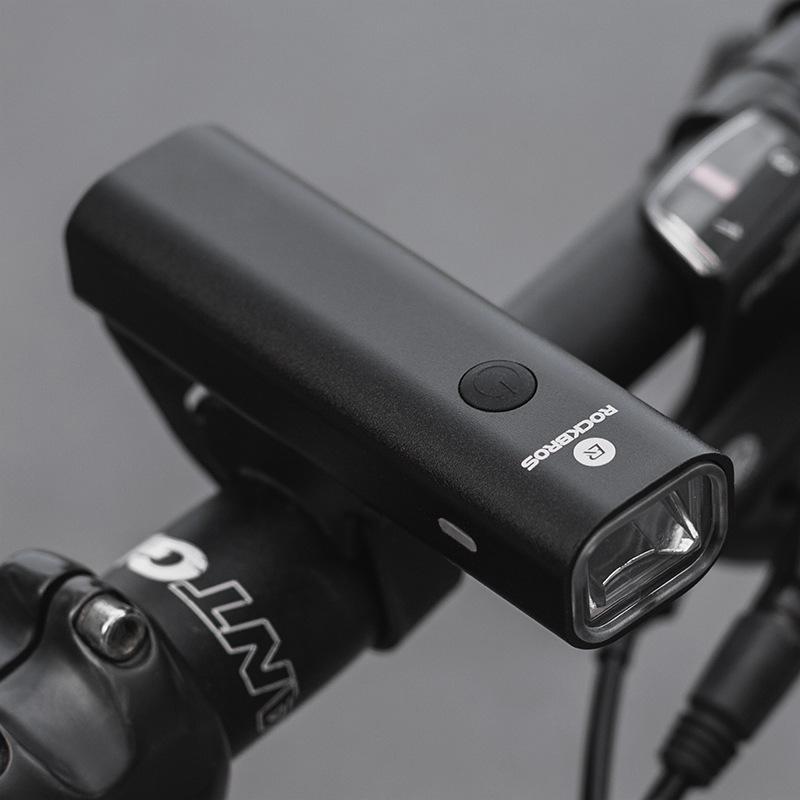 Đèn pha ban đêm dành cho xe đạp sạc bằng pin USB - Rock Brothers