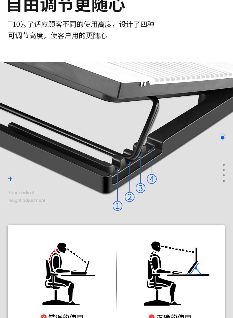 bộ tản nhiệt Túi đựng máy kích thích, hợp kim loại nhôm Quyển sách hoạt động máy tính câm 15.6
