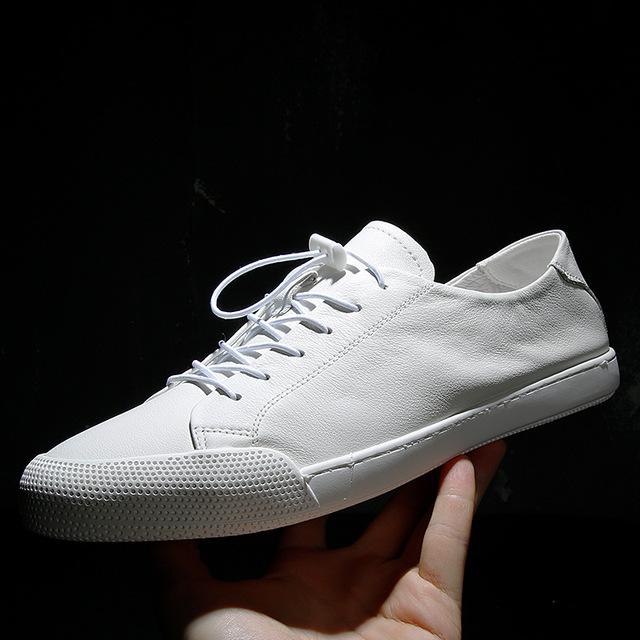 PADASUO Giày Sneaker / Giày trượt ván Nhà máy trực tiếp giày nam da trắng giày thời trang giày nam h