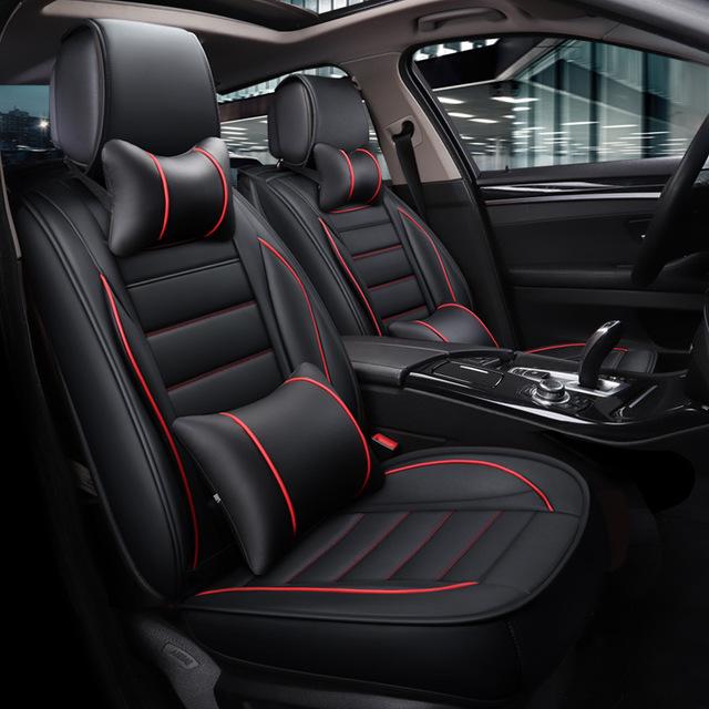 OUBANNI Drap bọc ghế xe hơi XA060 Xe đeo da Daniel mới có thể đeo Bốn mùa Đệm ghế Đệm Xe ô tô Ghế bọ