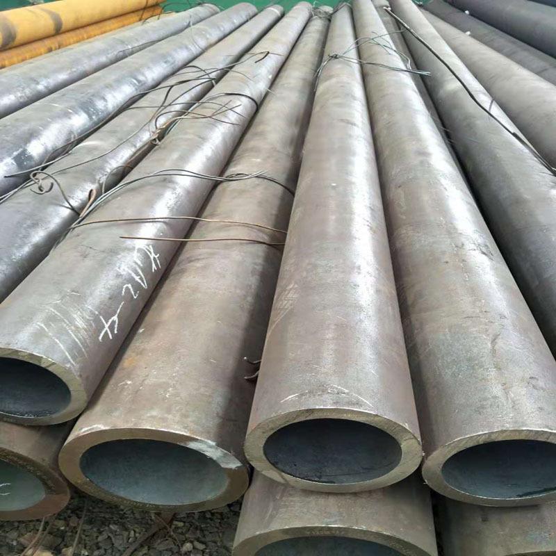 Linh kiện sắt thép Nhà máy trực tiếp ống liền mạch 20G Ống nồi hơi áp suất cao Để vận chuyển ống chấ