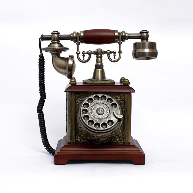 Điện thoại bàn phong cách cổ điển retro
