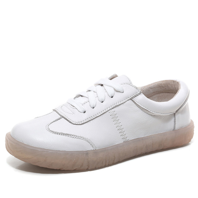 Infohomme Giày Sneaker / Giày trượt ván Túi tóc giúp mùa xuân hè 2019 và giày da nữ mới chống trượt