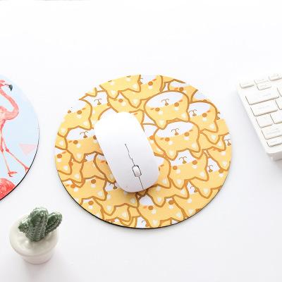 Thảm lót chuột Cá tính sáng tạo hành tinh pad chuột nhỏ tươi tròn máy tính xách tay pad cao su dày m