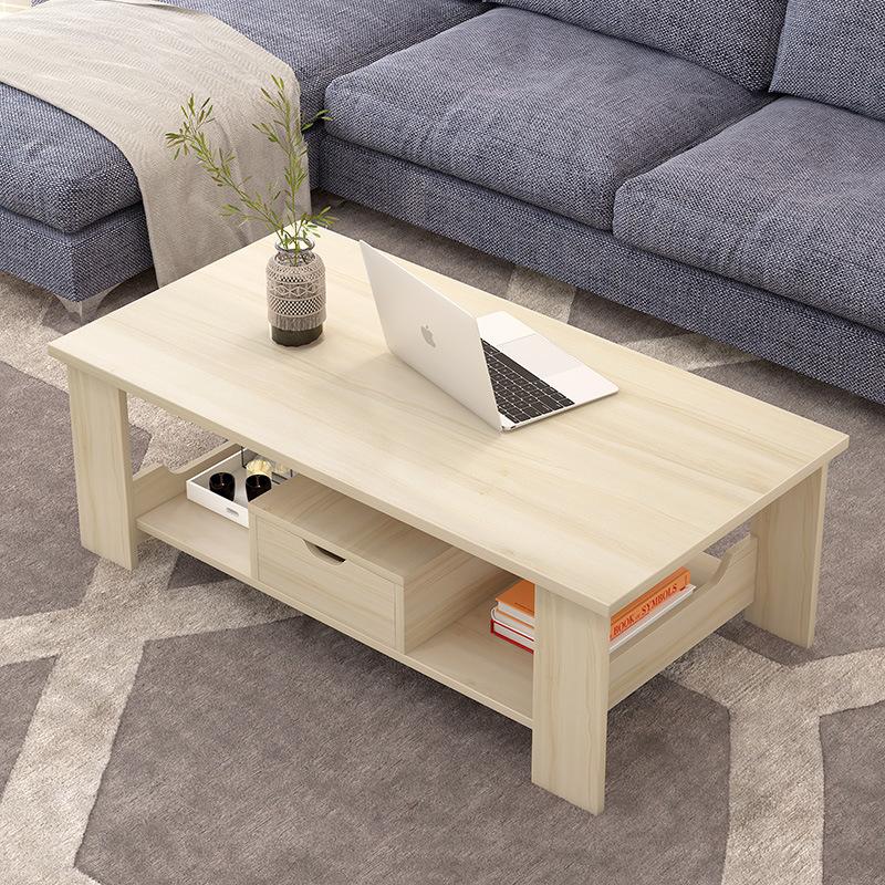 MSFE Nội thất Bàn cà phê đơn giản hiện đại phòng khách lưu trữ đồ nội thất đơn giản bàn cà phê đôi b