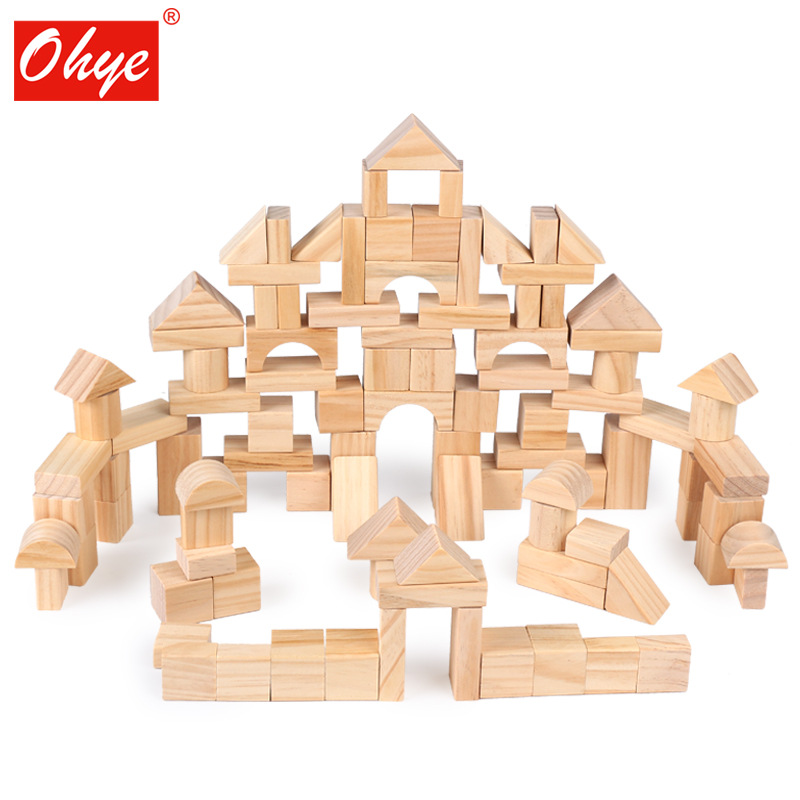 OUYI - Bộ đồ chơi lắp ráp bằng Gỗ cho trẻ em .